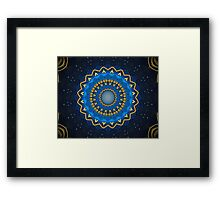 Science Fiction Abstract Pattern 1 Framed Print
