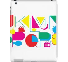 J to S Letters iPad Case/Skin