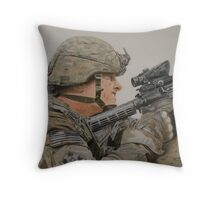 The Rifleman Throw Pillow