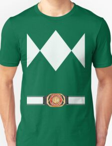 MMPR Green Ranger Uniform T-Shirt