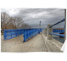 Ocean Ave Bridge Poster