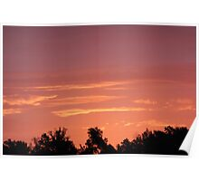 Pigeon Roost Prairie Sunrise Poster