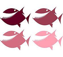 Pink Piranha Photographic Print