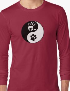 Dog Love - Ying & Yang Long Sleeve T-Shirt