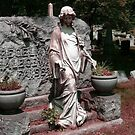 Mourning Woman in Robes, Laurel Grove Cemetery by Jane Neill-Hancock
