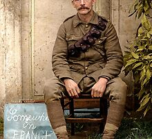 WW1 British Soldier by Marina Amaral