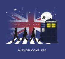 Beatles feat. Dr.Who - Mash Up (Original Version)