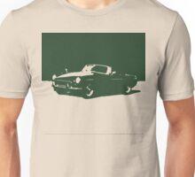 MGB, 1971 - British Racing Green on Cream Unisex T-Shirt