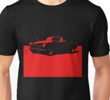 MGB, 1971 - Red on Black Unisex T-Shirt