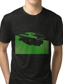 Mercury Marauder,  1969 - Green on black Tri-blend T-Shirt