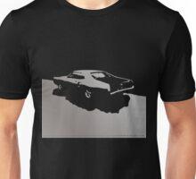 Mercury Marauder,  1969 - Gray on black Unisex T-Shirt
