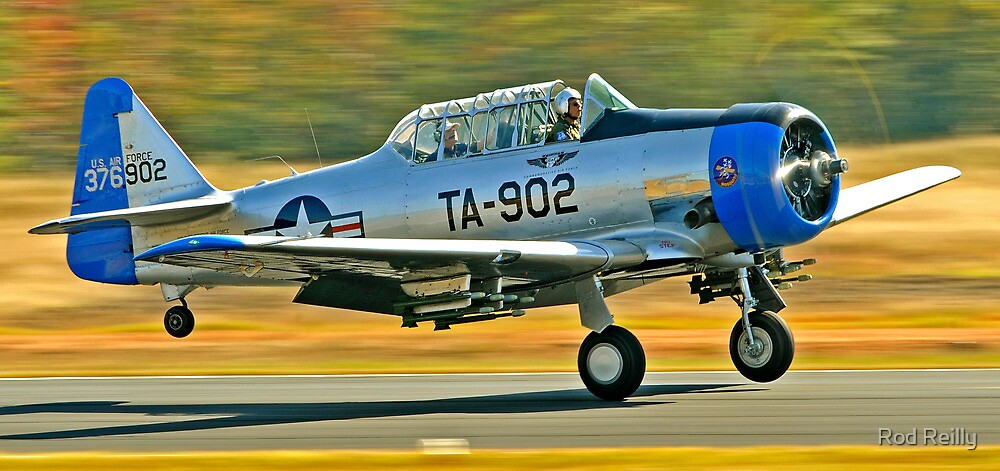T-6 Texan Takeoff by Rod Reilly