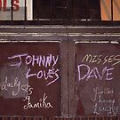Johnny Misses Dave by Robert Knapman