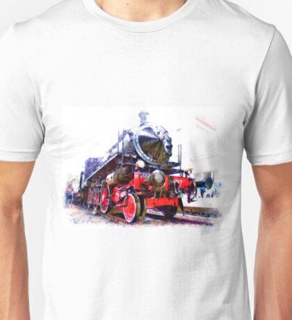 Steam locomotive Unisex T-Shirt
