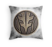 MMPR White Ranger Power Coin Throw Pillow