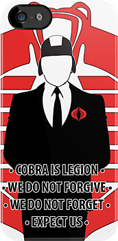 We Are Cobra Iphone case by jakehoss