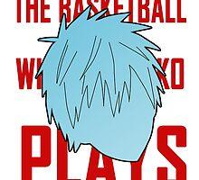 The basketball which Kuroko plays by KimLortin