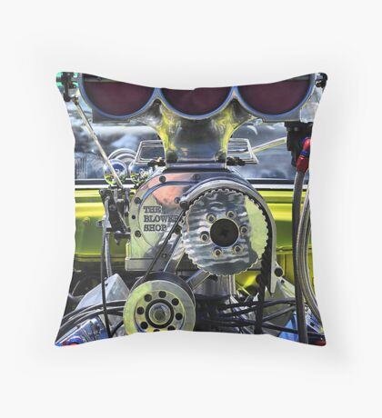Super Charged !!! Throw Pillow