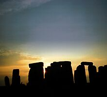 Stonehenge by Karen  Burgess