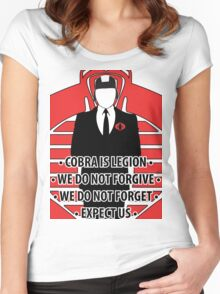 We Are Cobra Iphone case Women's Fitted Scoop T-Shirt