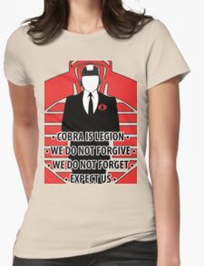 We Are Cobra Iphone case Womens Fitted T-Shirt