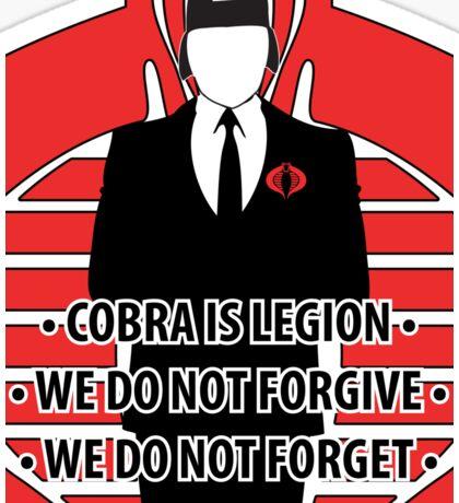 We Are Cobra Iphone case Sticker