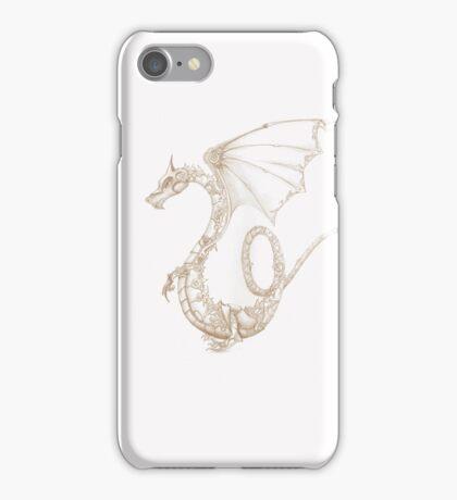 clockwork dragon iPhone Case/Skin