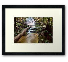 Junction Falls Framed Print
