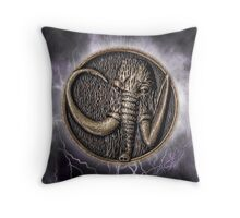 MMPR Black Ranger Power Coin Throw Pillow