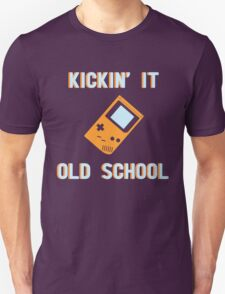 Kickin' It Old School Unisex T-Shirt