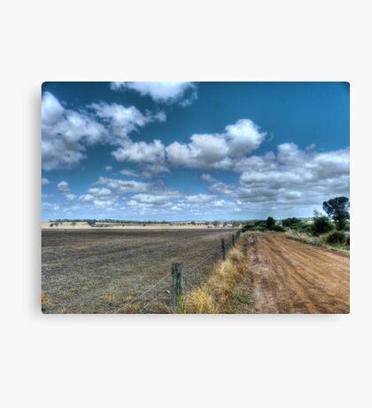 Wheatbelt landscape Canvas Print