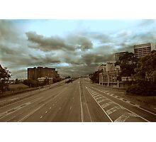 Empty Bridge Photographic Print
