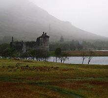 Fog Over Kilchurn Castle by Naked Sunday Photography & Design