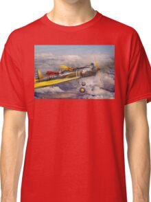 Flying Pig - Plane -The joy ride Classic T-Shirt