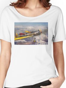 Flying Pig - Plane -The joy ride Women's Relaxed Fit T-Shirt