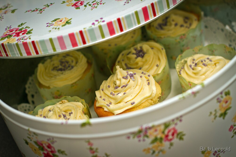 Tin Full of Yummyness (and Calories) by Barb Leopold