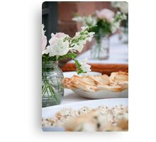 Afternoon Tea Party Canvas Print
