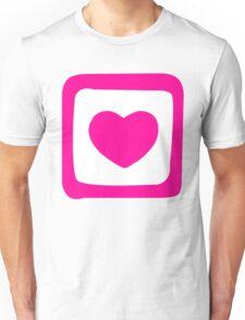 Pink Heart T-shirt Unisex T-Shirt