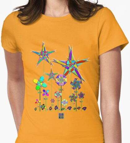 """The Snark Hypercube Astroid Garden""© Womens Fitted T-Shirt"