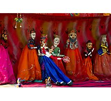 Indian Puppet Dance Photographic Print