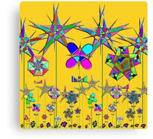 """The Snark Hypercube Astroid Garden""© Canvas Print"