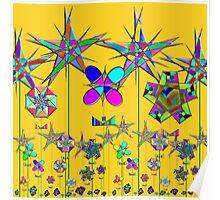 """The Snark Hypercube Astroid Garden""© Poster"
