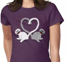 KITTENHEART Womens Fitted T-Shirt