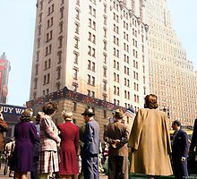 New York on D Day by Marina Amaral