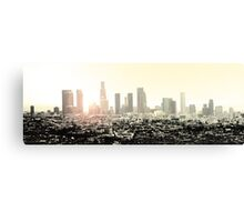 Los Angeles Sunset Canvas Print