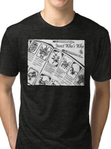 Who's Who Bugs Tri-blend T-Shirt
