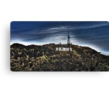 Hollywood Sign Wrapped  Canvas Print