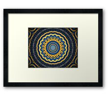Science Fiction Abstract Pattern 3 Framed Print