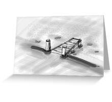 jetty Greeting Card