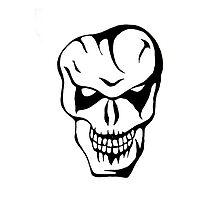 joker skull by krassrocks